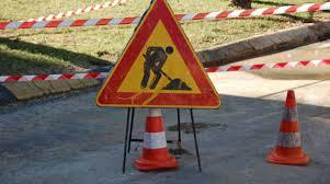 Lavori di risistemazione delle strade  divieto di transito in Via Toscana a Stagno