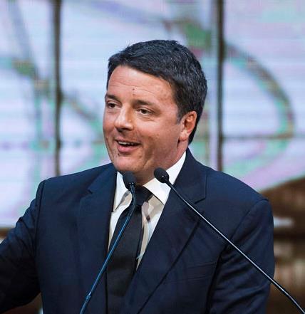 Matteo Renzi alla tre giorni della Repubbliche delle idee