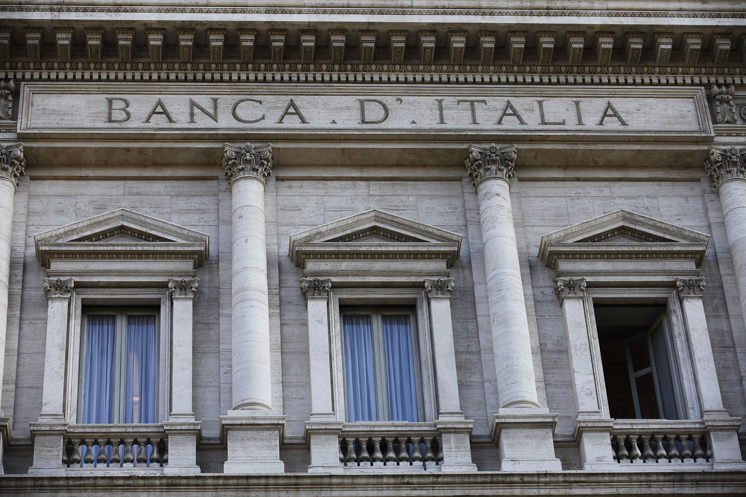 Bankitalia: crescita zero nel terzo trimestre