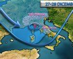 Previsioni meteo toscana Venerdi 16 Sabato 17 Novembre