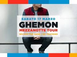 """Sabato 17 marzo, ore 22 - Ghemon con """"Mezzanotte Tour"""" al The Cage Theatre"""