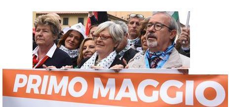 Cgil, Cisl e Uil sospendono la manifestazione del Primo Maggio
