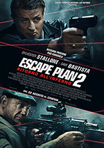 Film in uscita: ESCAPE PLAN 2 - RITORNO ALL'INFERNO