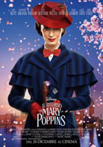 Film al cinema:  IL RITORNO DI MARY POPPINS