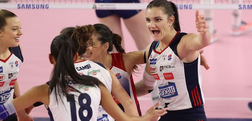 Volley femminile  Si resta a Bergamo: domenica Zanetti con Busto