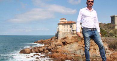 Andrea Romiti  candidato sindaco di Livorno  della coalizione di centrodestra