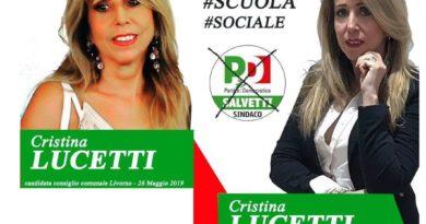 La Presentazione di Cristina Lucetti candidata al Consiglio Comunale