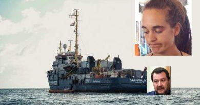 Sea Watch, affondo della comandante nella notte portata in porto la nave Arrestata la comandante 1