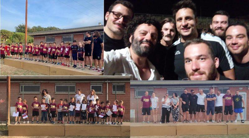 Rugby: resoconto festa di fine stagione al 'Priami': oltre 600 persone celebrano una stagione agonistica favolosa