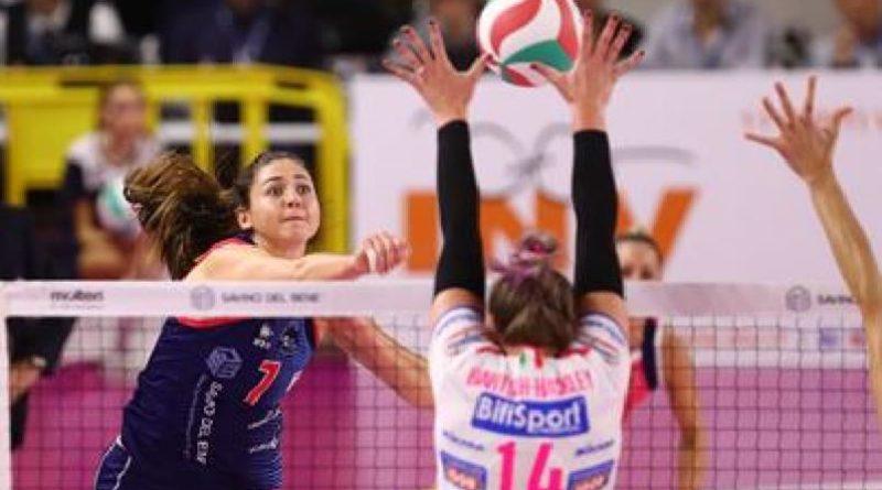 Volley Per la Zanetti Bergamo un rinforzo dagli Stati Uniti arriva la schiacciatrice Annie Mitchem