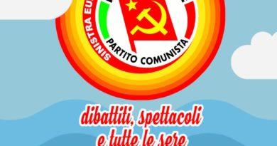 18-21 luglio festa di Rifondazione Comunista a Livorno. Il Programma