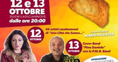 """A Casalnuovo la """"Festa della Pizza Fritta""""."""