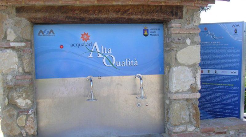 Collesalvetti  Sabato 2 novembre inaugurazione del sesto Fontanello AQ a Parrana San Martino