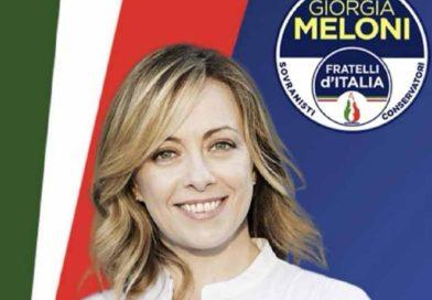Meloni: Fdi in piazza con tricolori