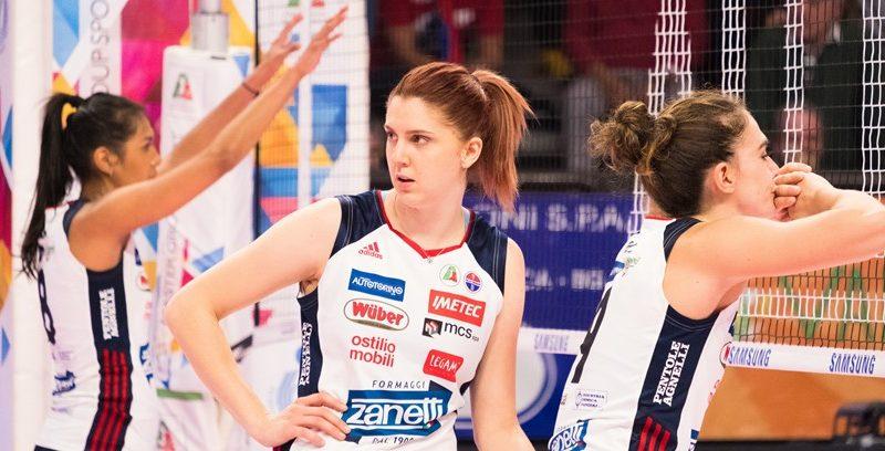 Volley femminile ZANETTI-SCANDICCI POSTICIPATA ALLE 18