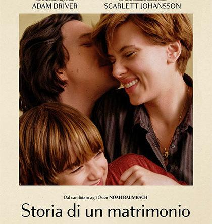 PROSSIMAMENTE AL CINEMA  STORIA DI UN MATRIMONIO