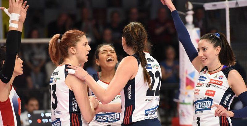 Volley  femminile C'è Zanetti-Busto al Pala Agnelli