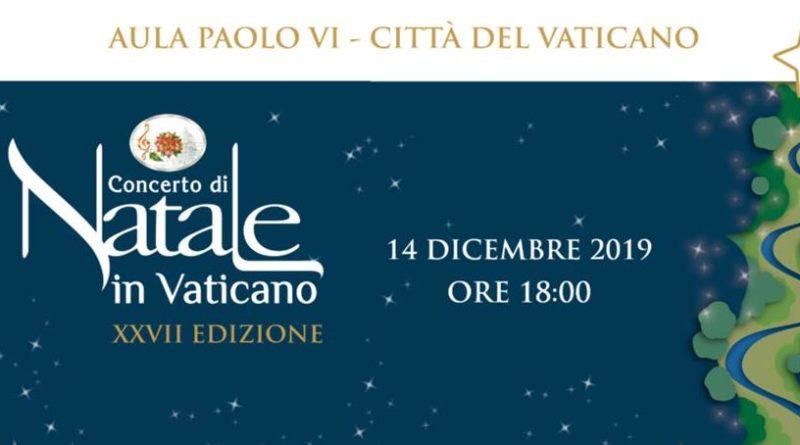 L'ORCHESTRA ITALIANA DEL CINEMA AL CONCERTO DI NATALE IN VATICANO 2019
