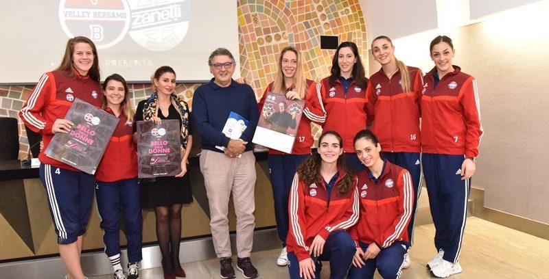 Ritorna, il Calendario Solidale del Volley Bergamo.
