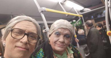 Vernacolo a bordo del bus nella città di Livorno