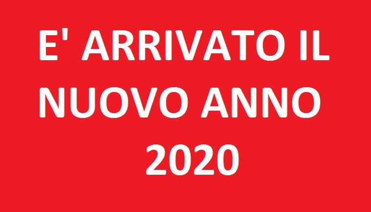 arrivato il 2020