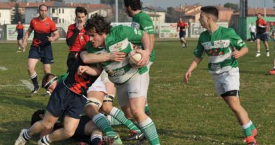 RUGBY: SERIE B. IMOLA - LIVORNO RUGBY 26-31