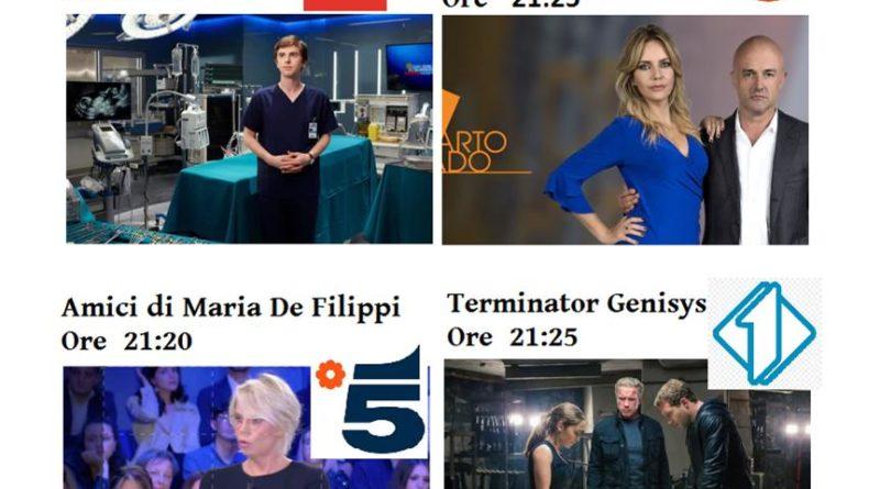 Ora in tv Venerdi 27 Marzo 2020