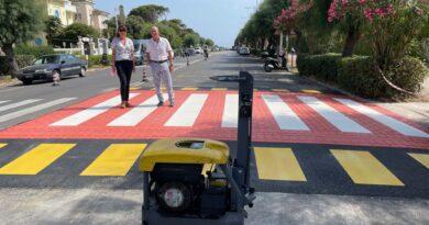 Il via alla realizzazione di Due attraversamenti pedonali rialzati sul Viale Italia